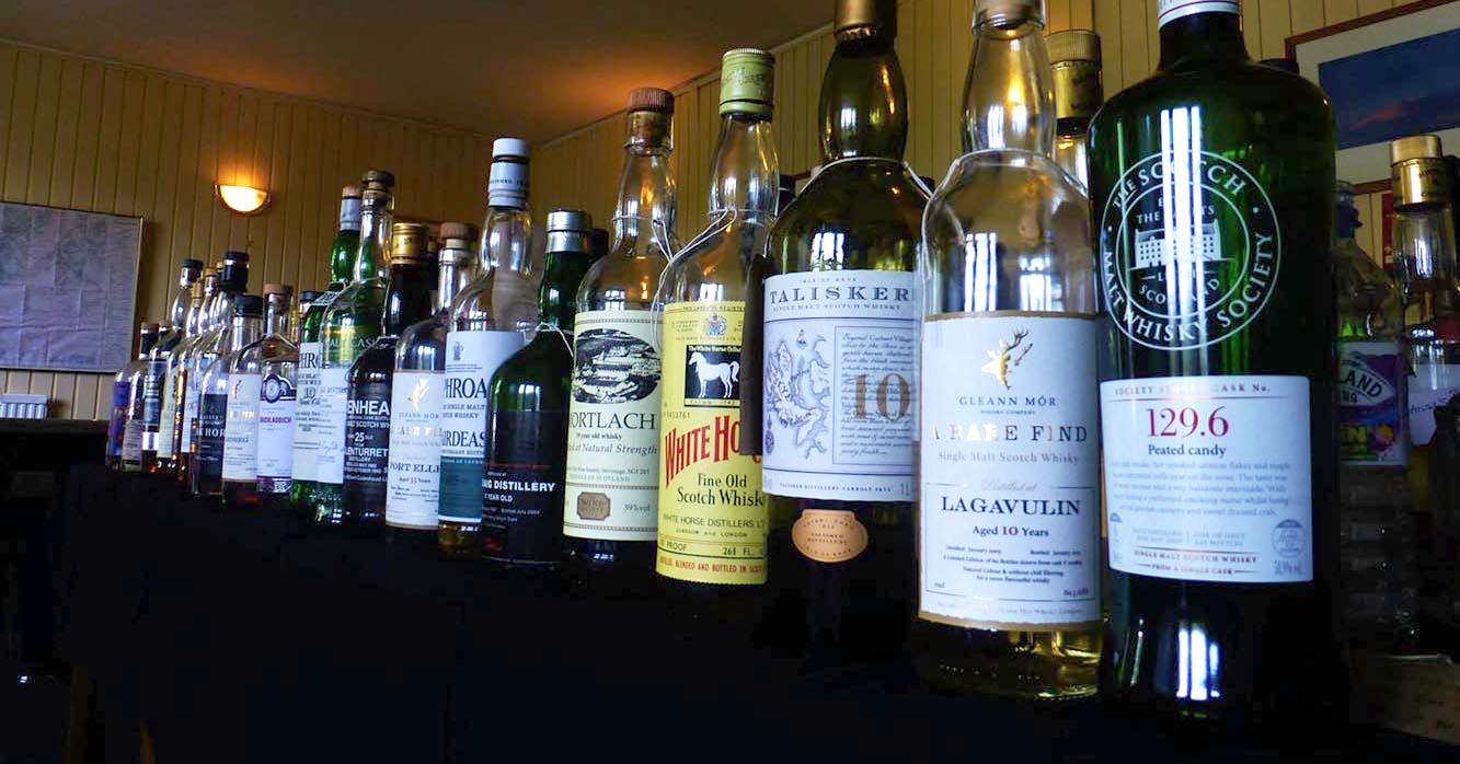 The bottles…