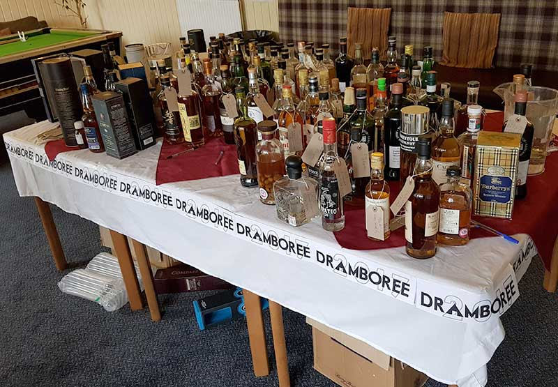 The Dramboree Dram Table